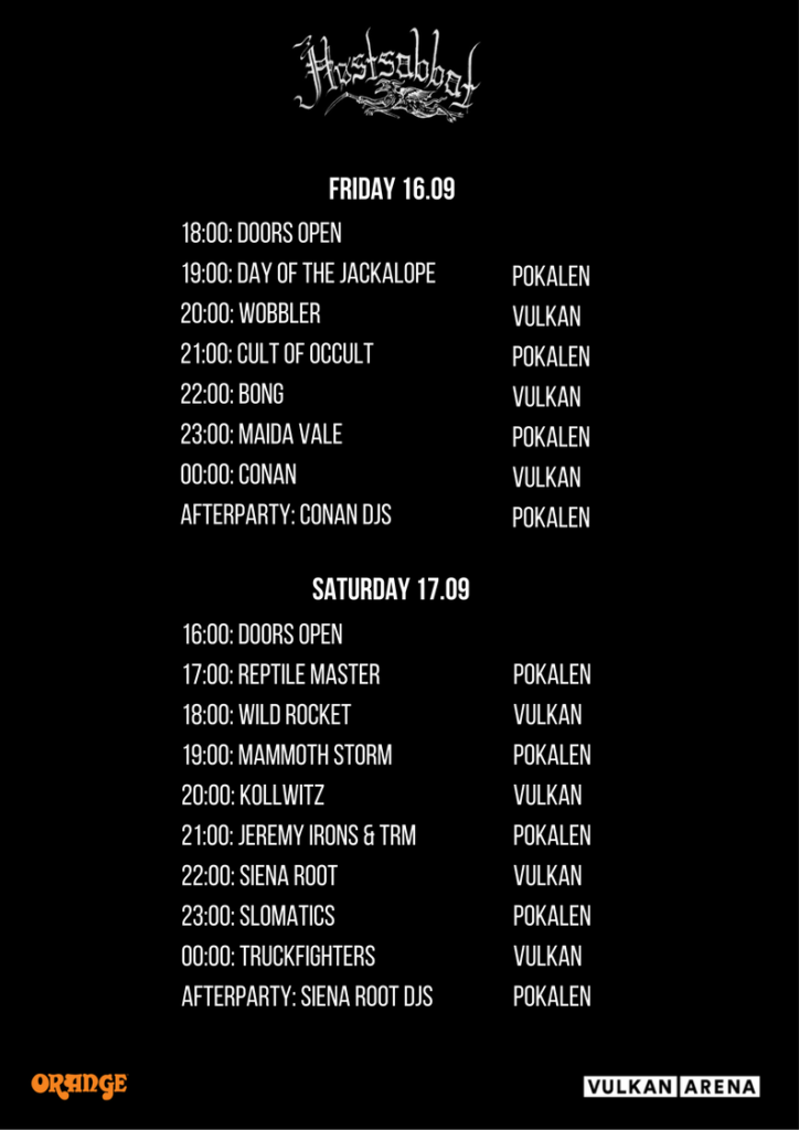 Høstsabbat 2016 - Program