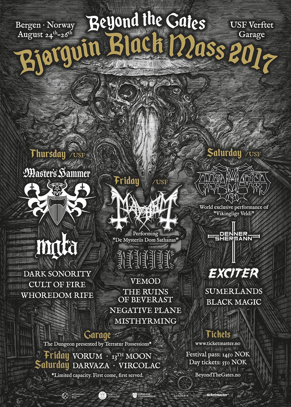 Beyond The Gates 2017 Metal Hammer Norway